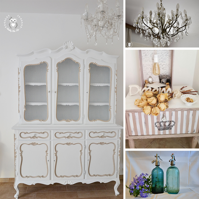 shabby chic life shop arredi e complementi. Black Bedroom Furniture Sets. Home Design Ideas