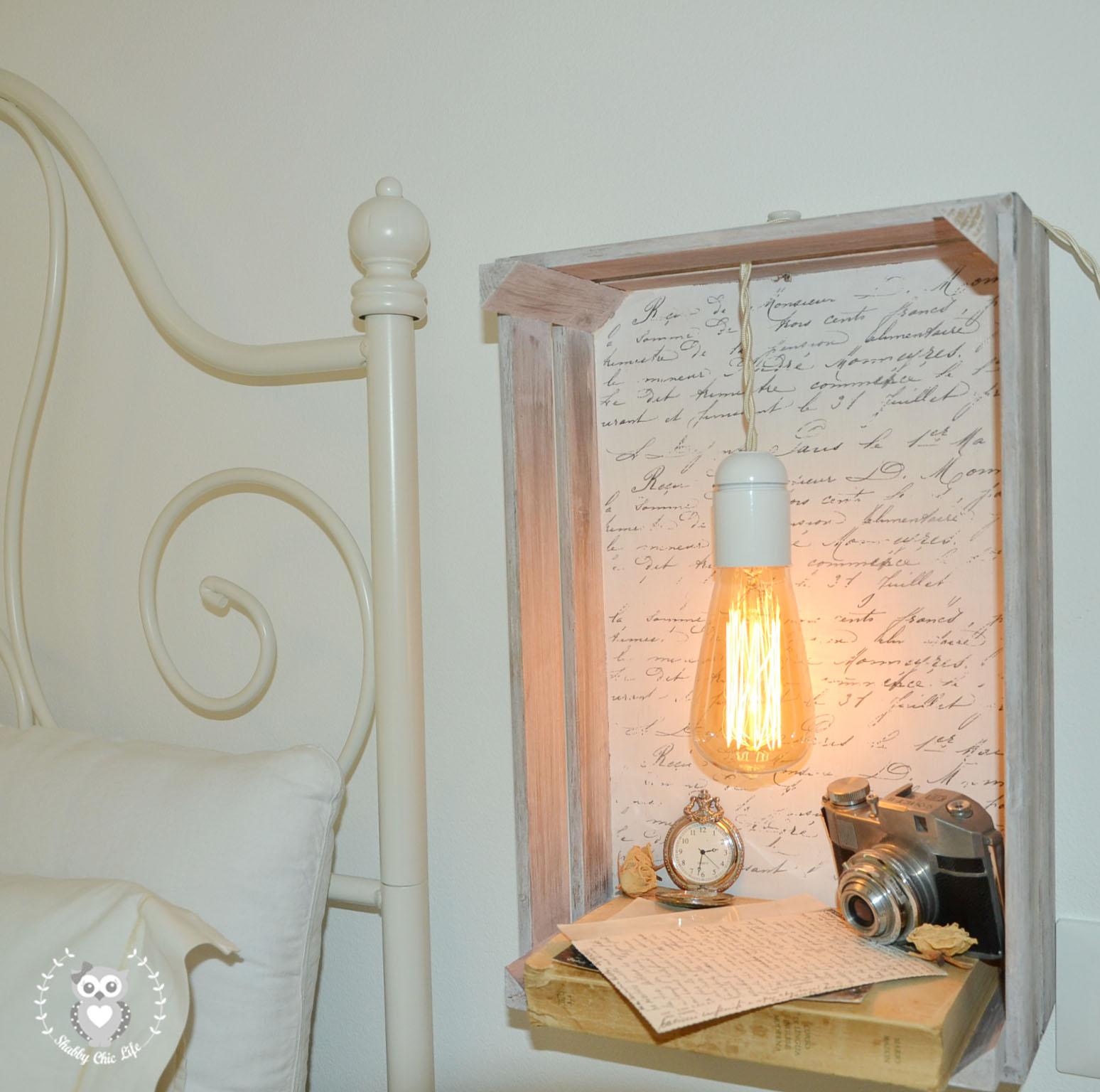 shabby chic life shop mobili abat jour shabby vintage. Black Bedroom Furniture Sets. Home Design Ideas